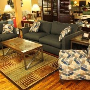 Max Algea Sofa and Loveseat set Pittsburgh Furniture