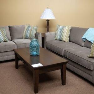 Oakley Mocha Sofa and Love seat Pittsburgh Furniture