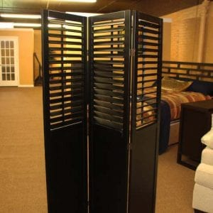 Pittsburgh Furniture room divider accessory example