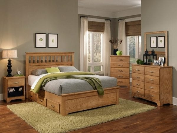 Carolina 4 Piece Bedroom Set Sterling 4900 Collection Pittsburgh Furniture