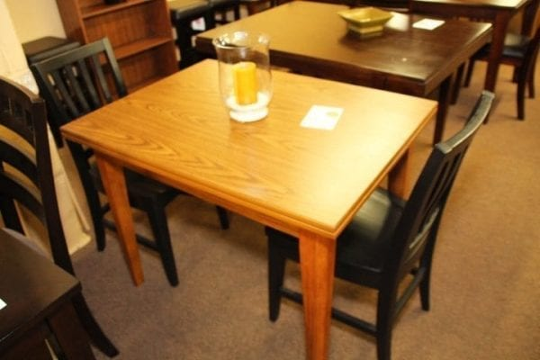 Cromcraft 3 piece Oak Dinette table and chairs set Pittsburgh Furniture Outlet furniture for sale