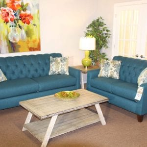 Lilly Peacock Sofa Set Pittsburgh Furniture