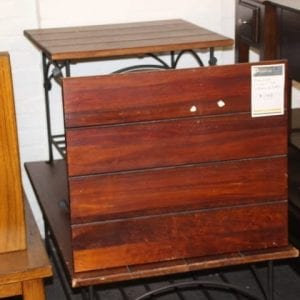Pittsburgh Furniture Outlet Furniture Sales Cherry & Iron Coffee Table & Two End Tables