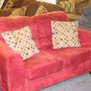 Pittsburgh Furniture Outlet Furniture Sales Red Used Loveseat
