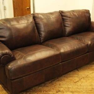 Ashley brown Leather Sofa Pittsburgh Furniture