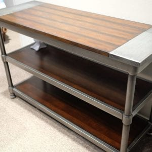 Hudson console table Pittsburgh Furniture