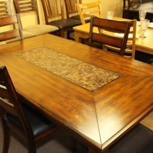 Pittsburgh Furniture Jofran Baroque Dinette set table and chairs