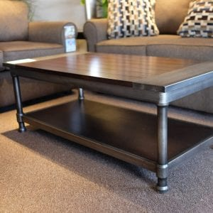 Hudson coffee table Pittsburgh Furniture Outlet