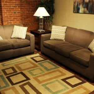 Halo Mola love seat and sofa set available at Pittsburgh Furniture Outlet